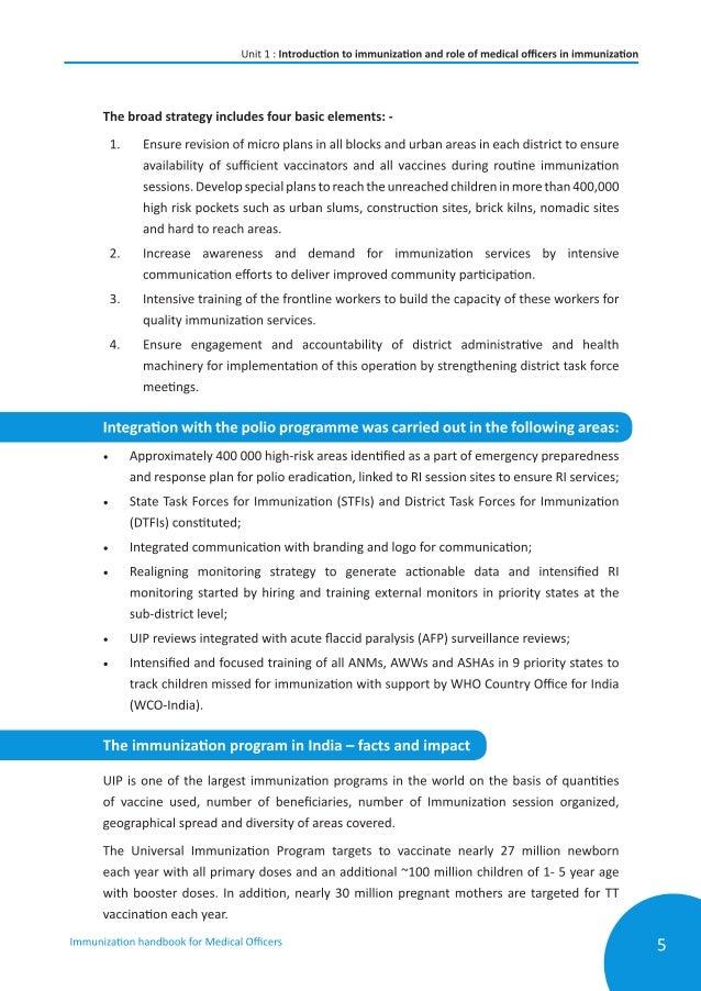 online immunisation handbook