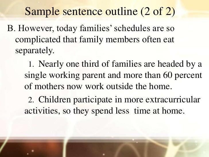 sample sentence