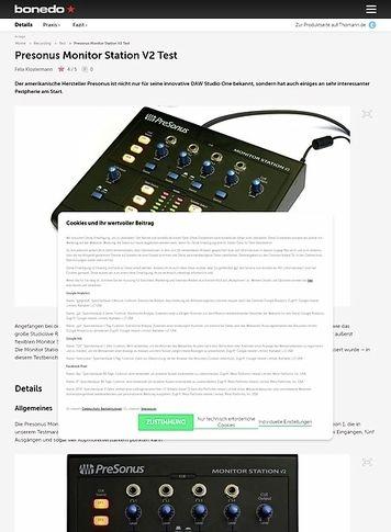 presonus monitor station v2 manual