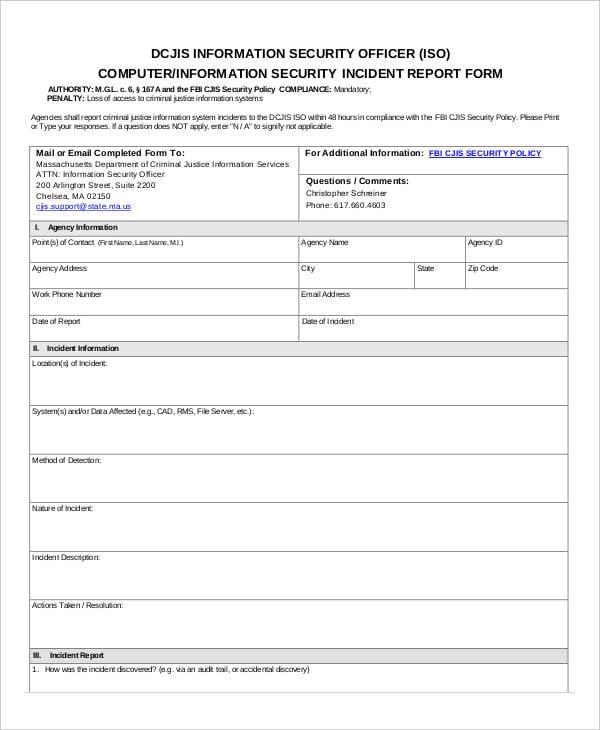 security report pdf