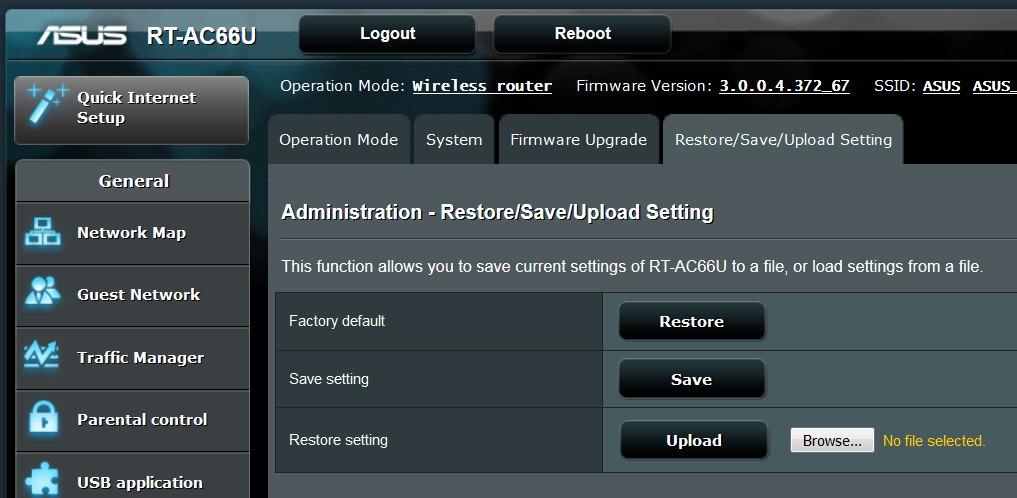 rt-ac68u manual reboot