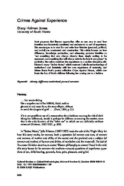 stabat mater kristeva pdf