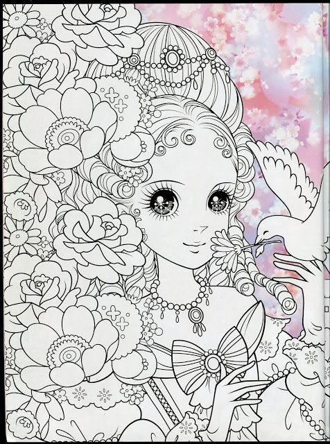 pop manga coloring book pdf