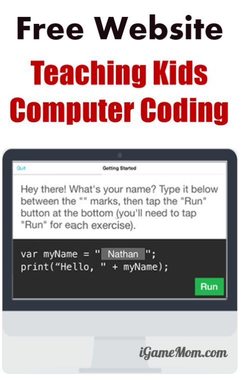 mit application to teach programming