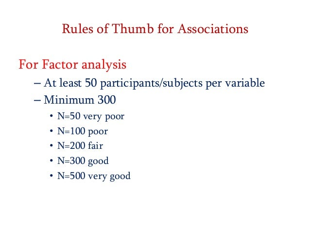 sample size needed for factor analysis