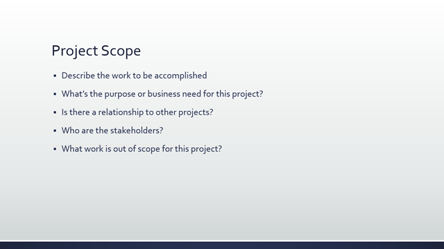 project success story sample