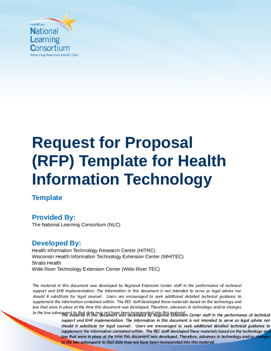 simple request for proposal example pdf