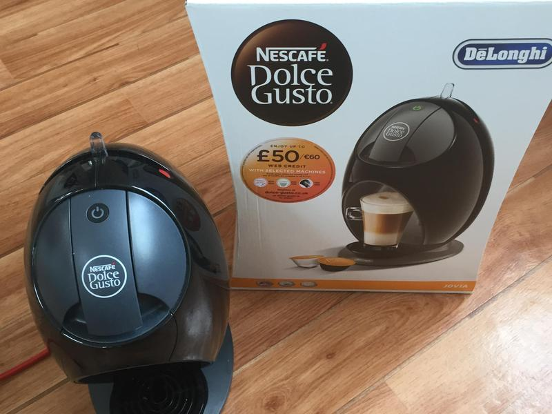 nescafe dolce gusto jovia manual coffee machine black