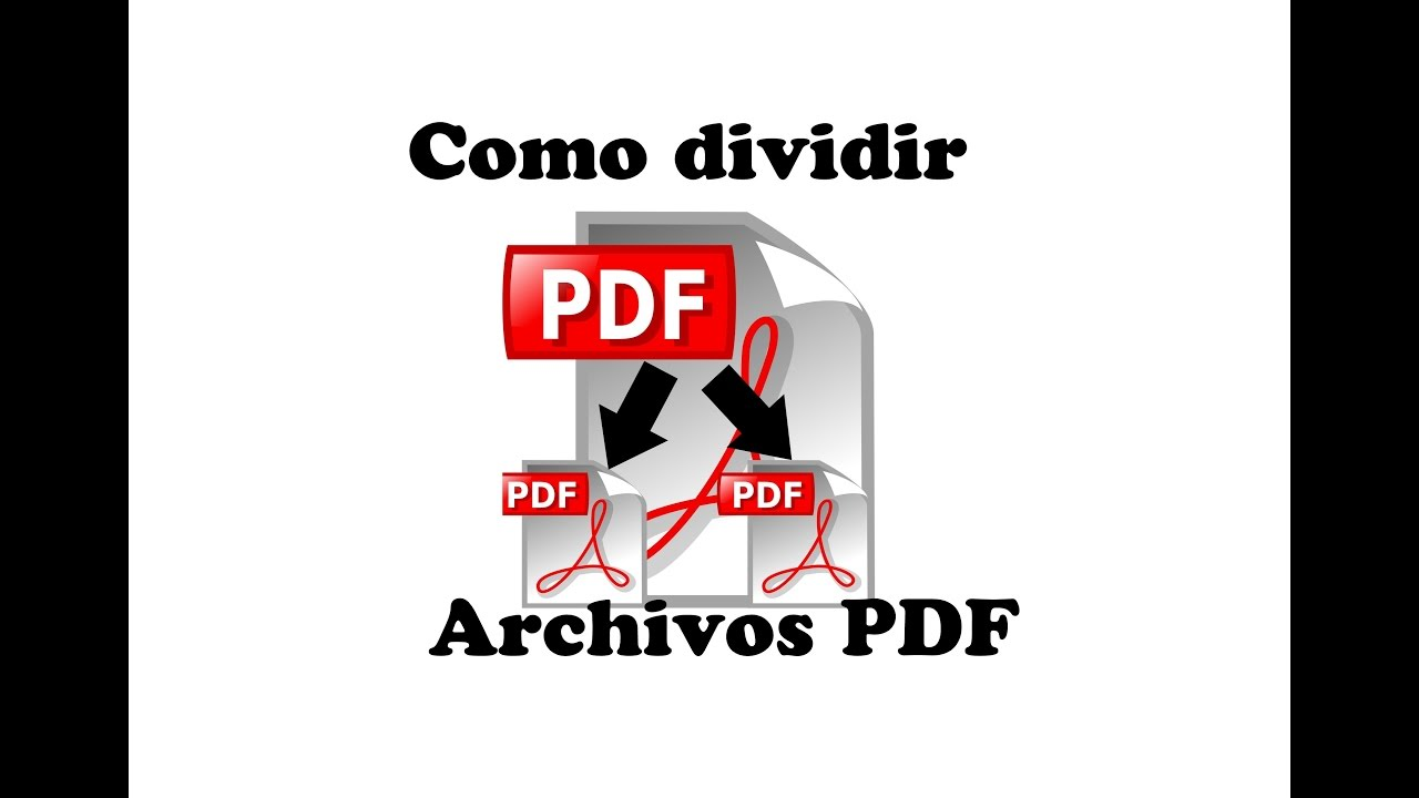 separar archivos pdf