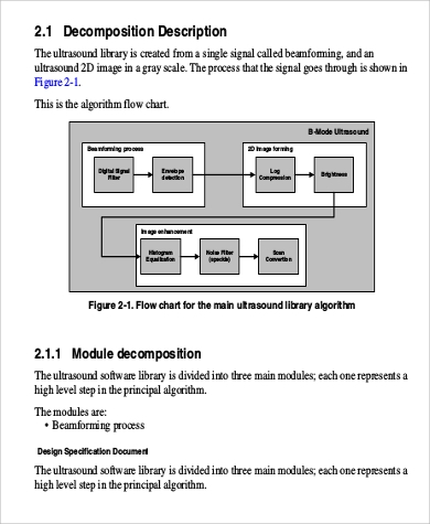 software design document pdf