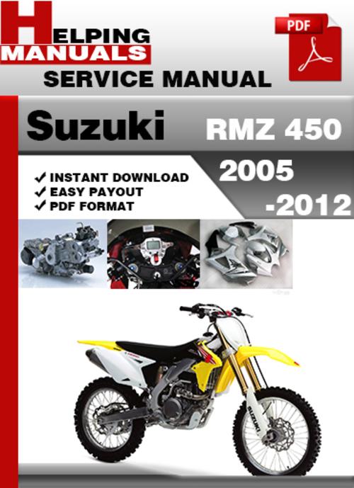 rmz 250 service manual