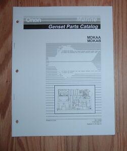 onan mdkd parts manual