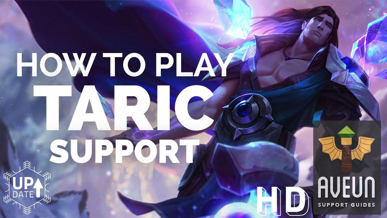 taric support guide