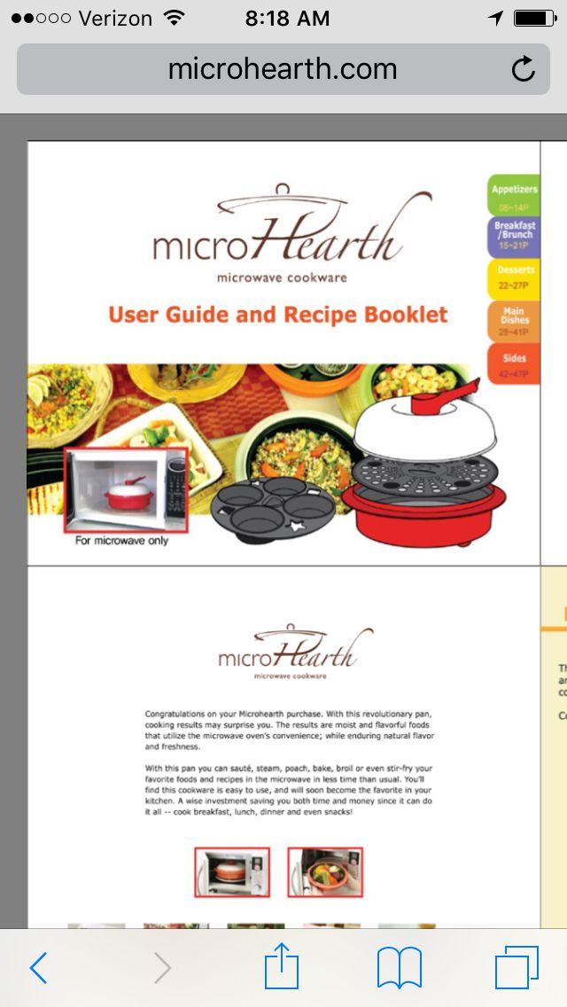 micro chef grill cooking guide