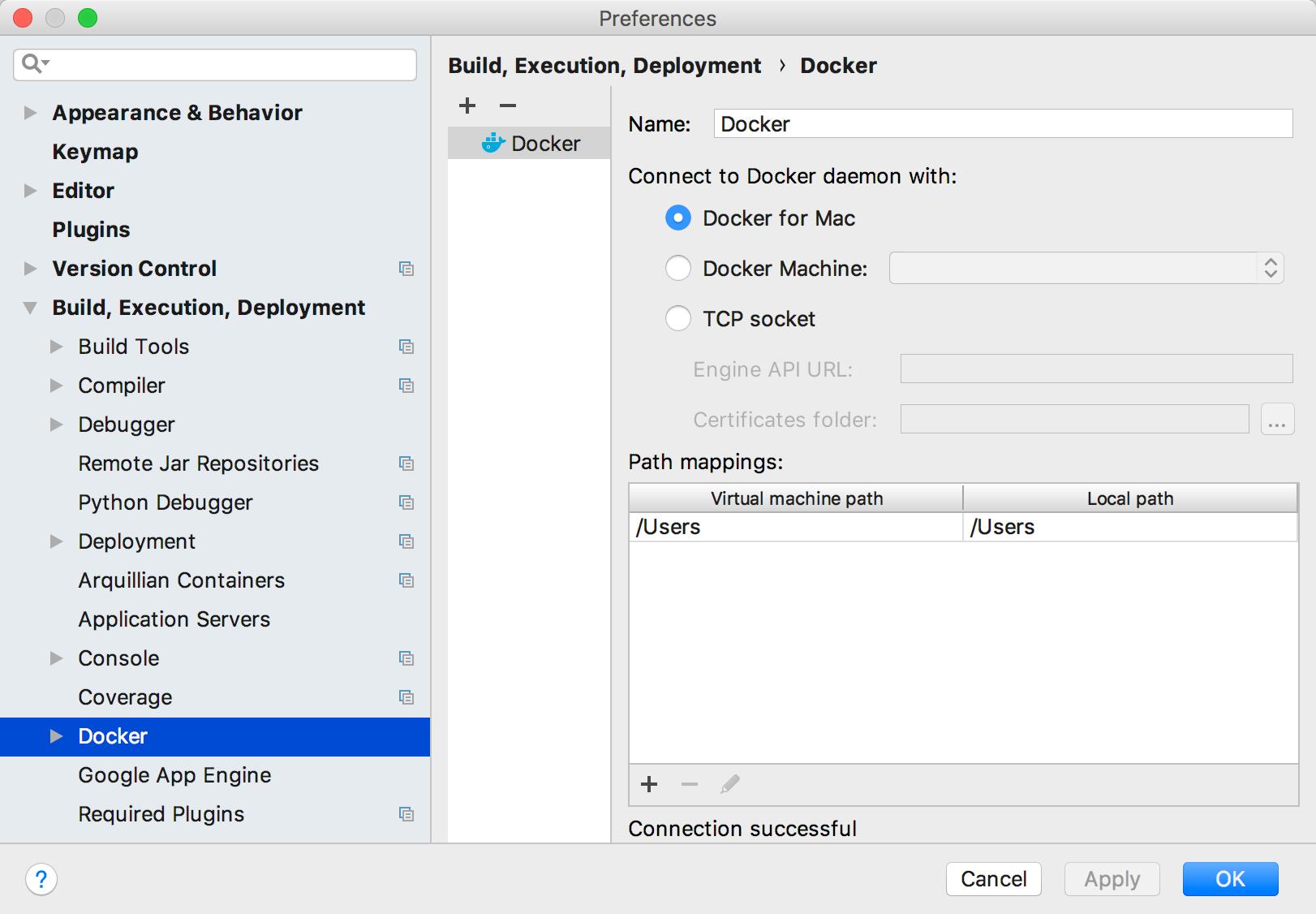 path to application folder on mac