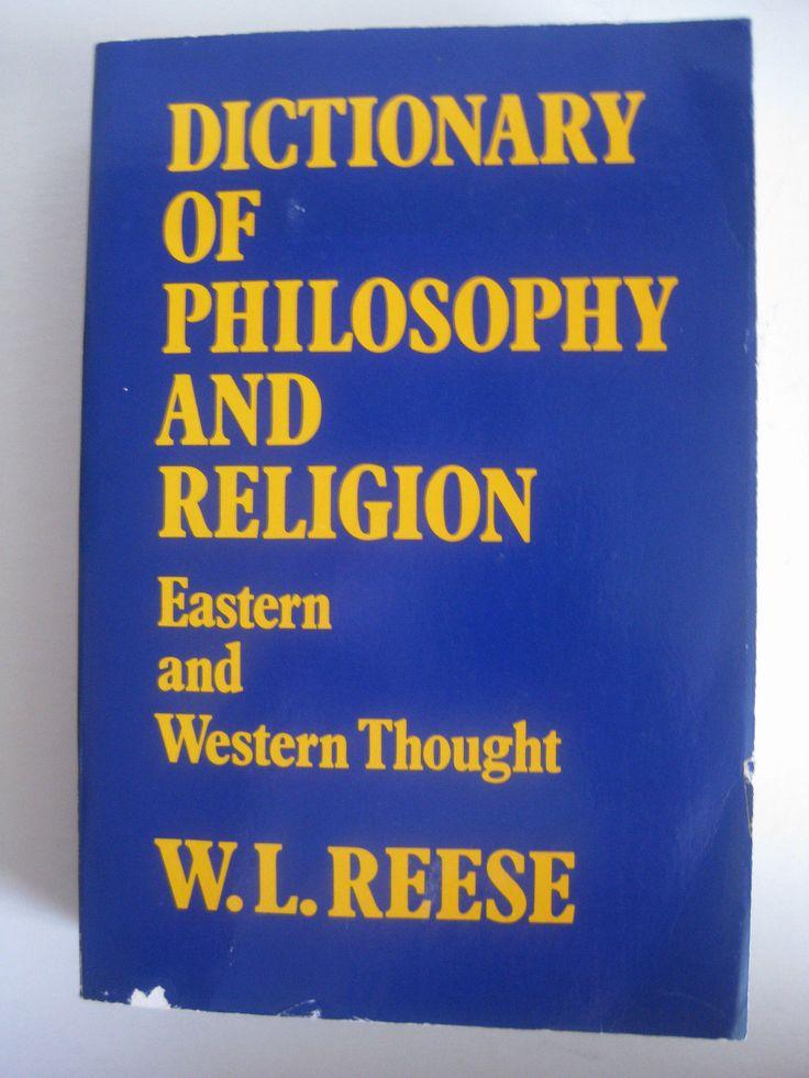 philosophy dictionary
