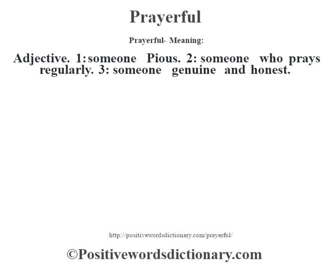 pious dictionary