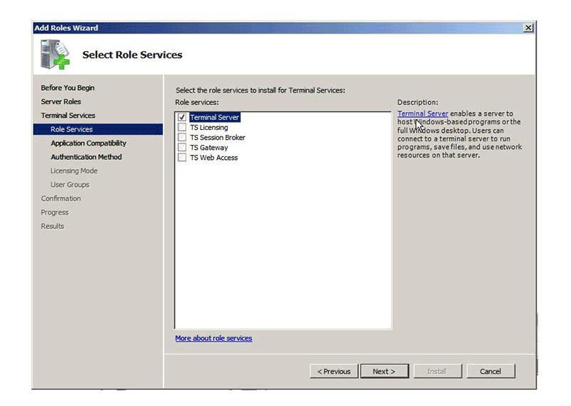 pdf creator terminal server