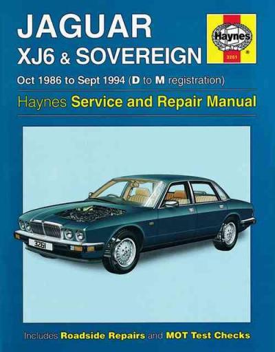 old jaguar xj6 restoration manual