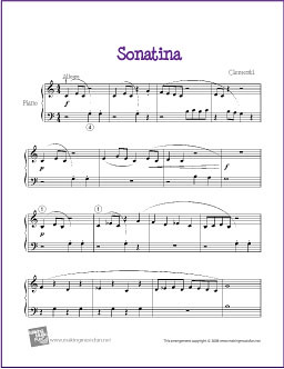 sonatina clementi pdf