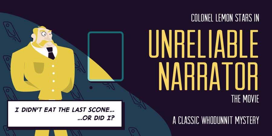 unreliable narrator definition dictionary