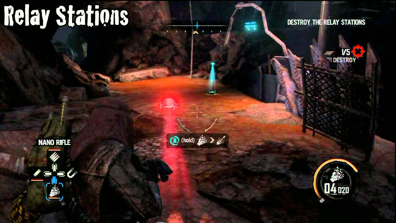 red faction battlegrounds achievement guide