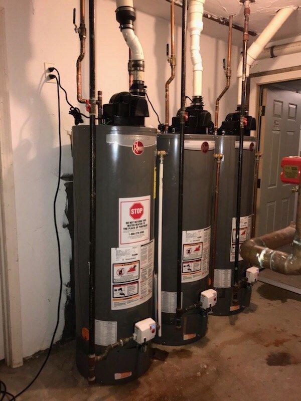 rheem hot water cylinder manual