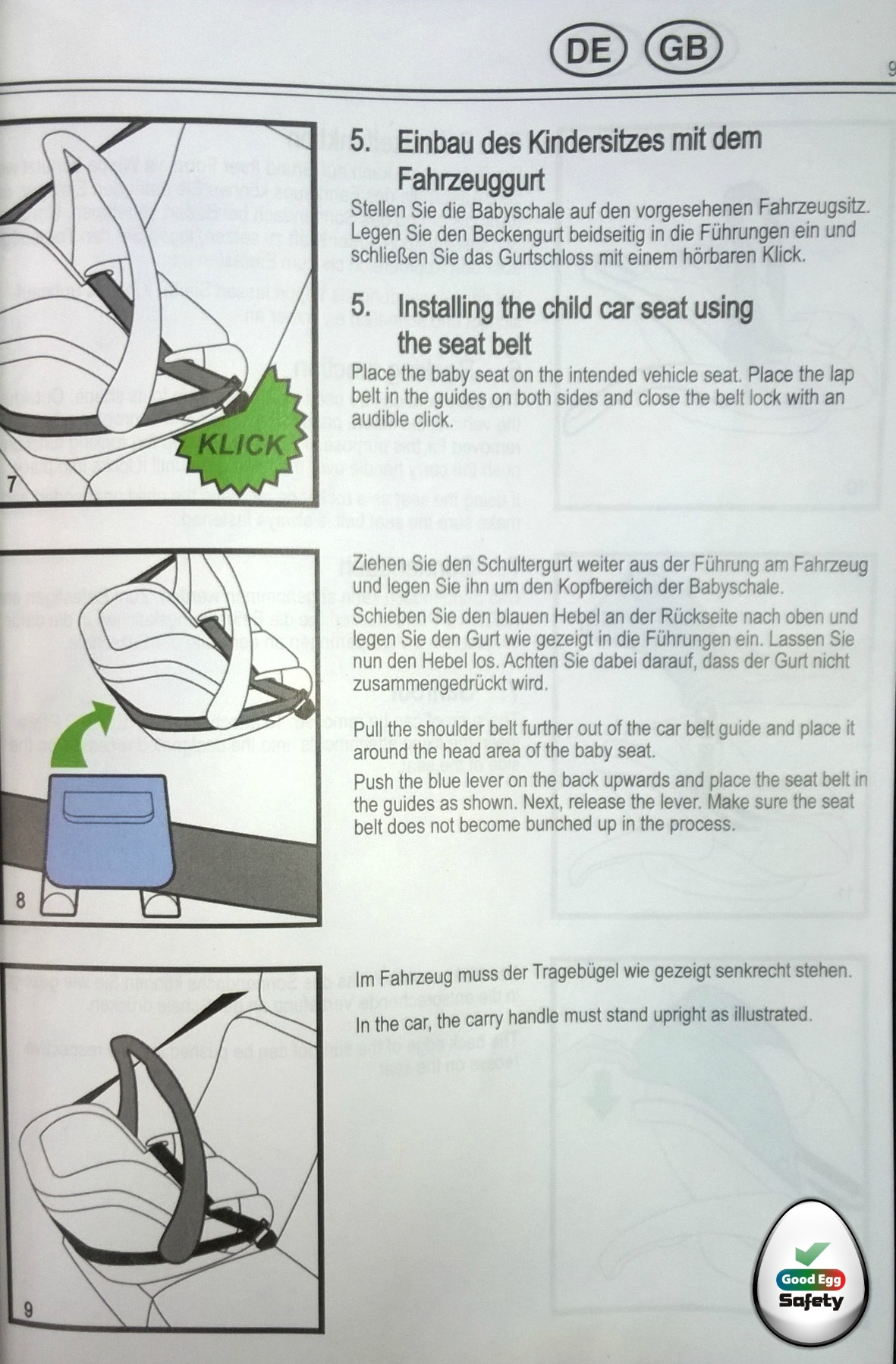 monterey car seat instructions