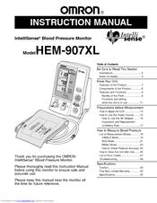 omron hem rml31 user manual