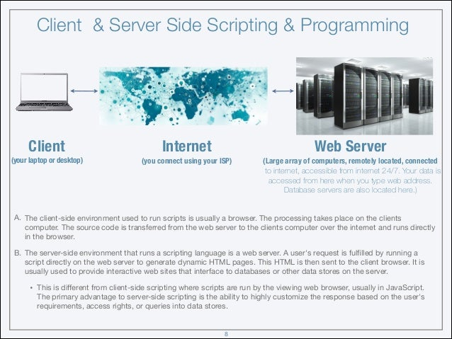php client server application example