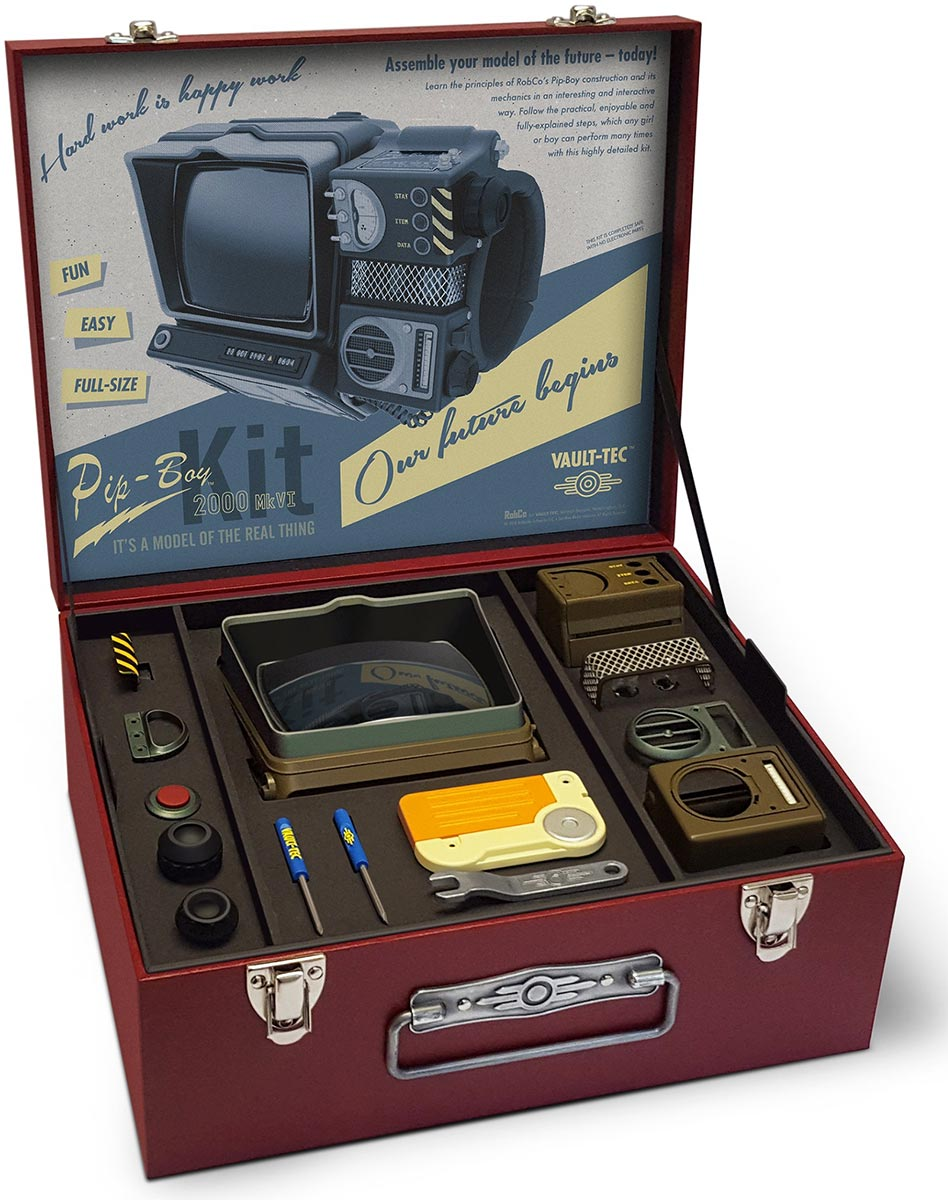 pip boy 2000 kit instructions