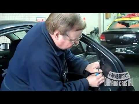 poner una maneta de ventanilla manual en el coche nuevo