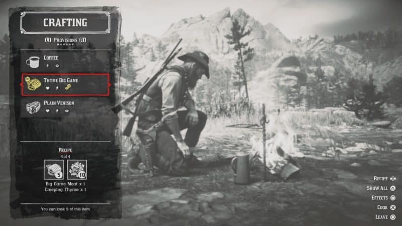 rdr2 fence crafting guide