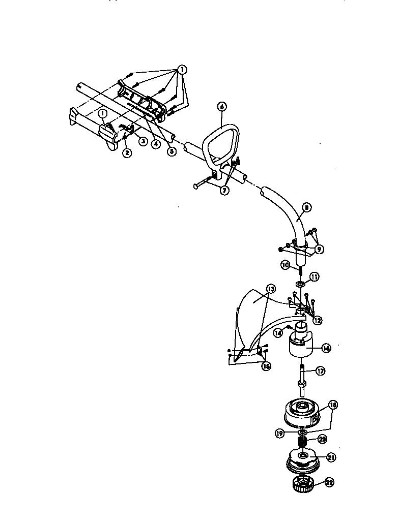 ryobi line trimmer repair manual