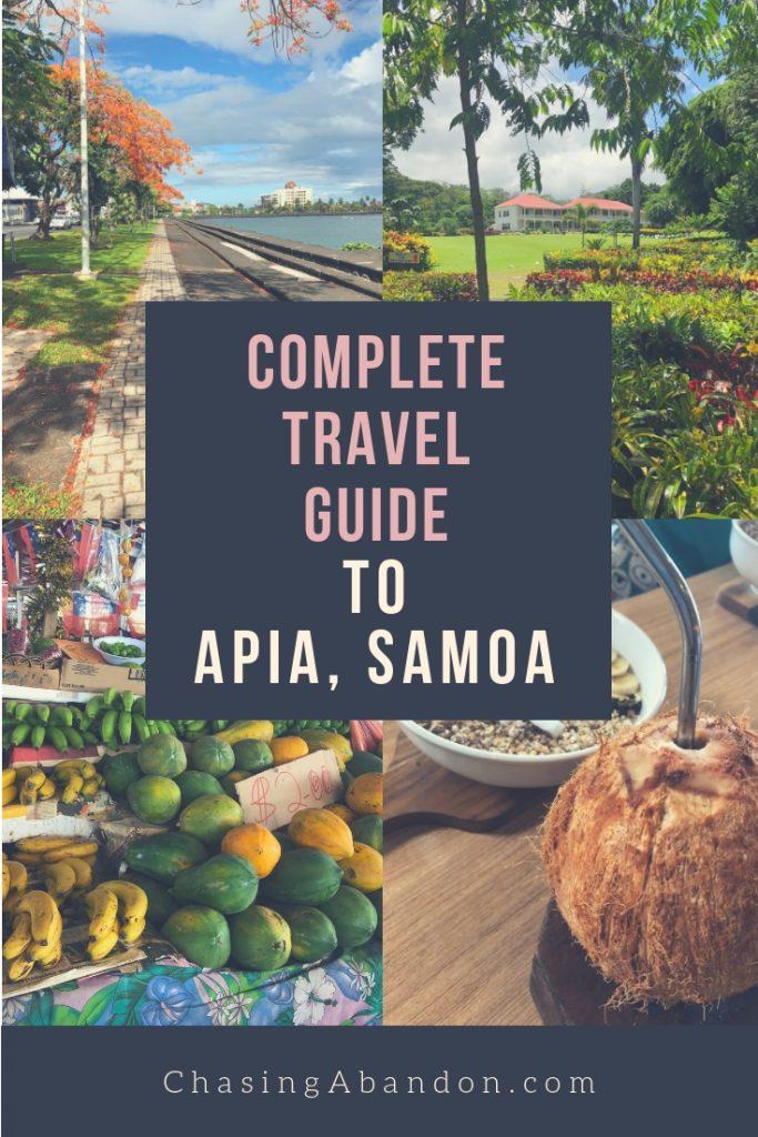 samoa guide