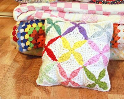 sample squares crochet blanket