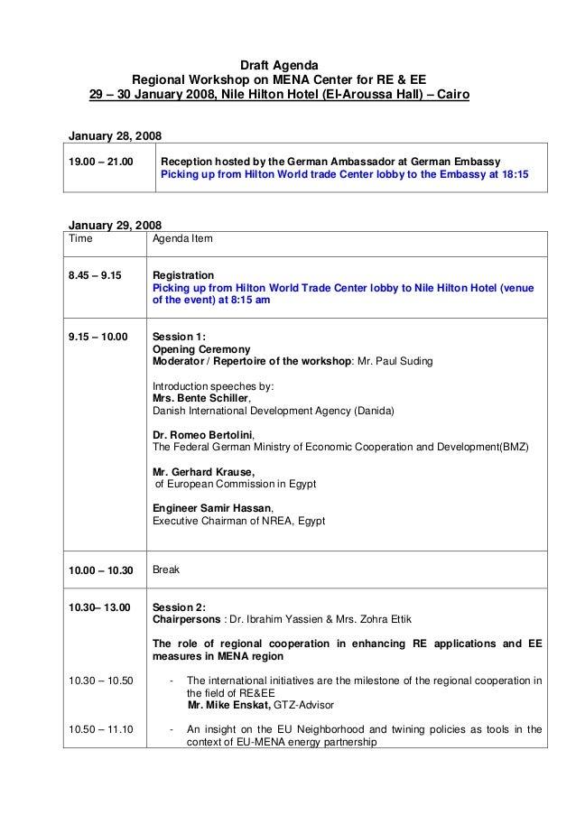 sample team building workshop agenda
