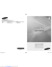samsung la37a450c1 manual
