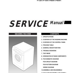 samsung washing machine manual unlock