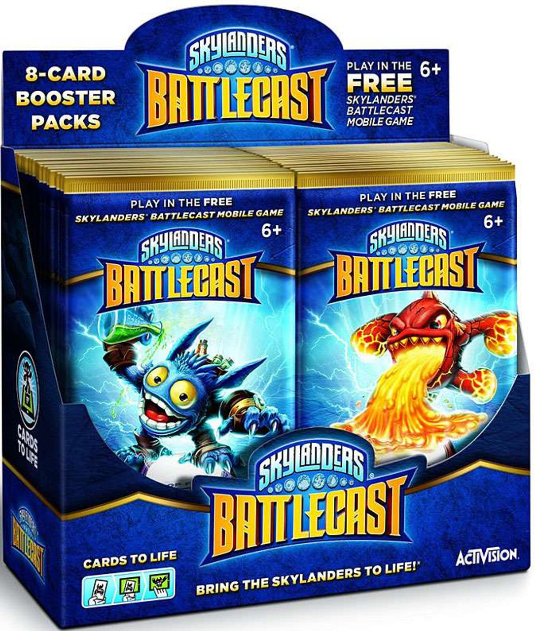 skylanders battlecast instructions