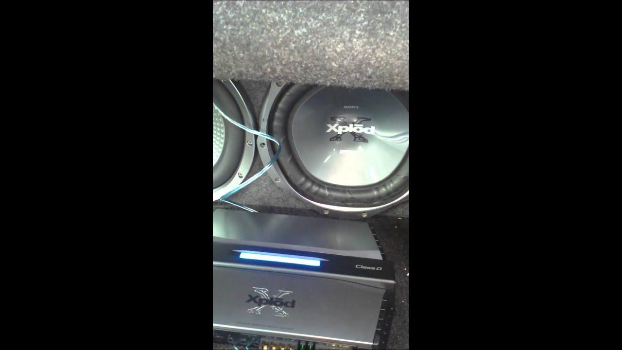 sony xplod monoblock amplifier manual