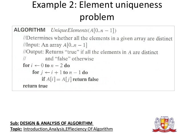 the design and analysis of algorithms pdf