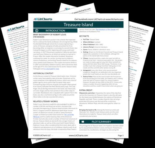 treasure island summary pdf