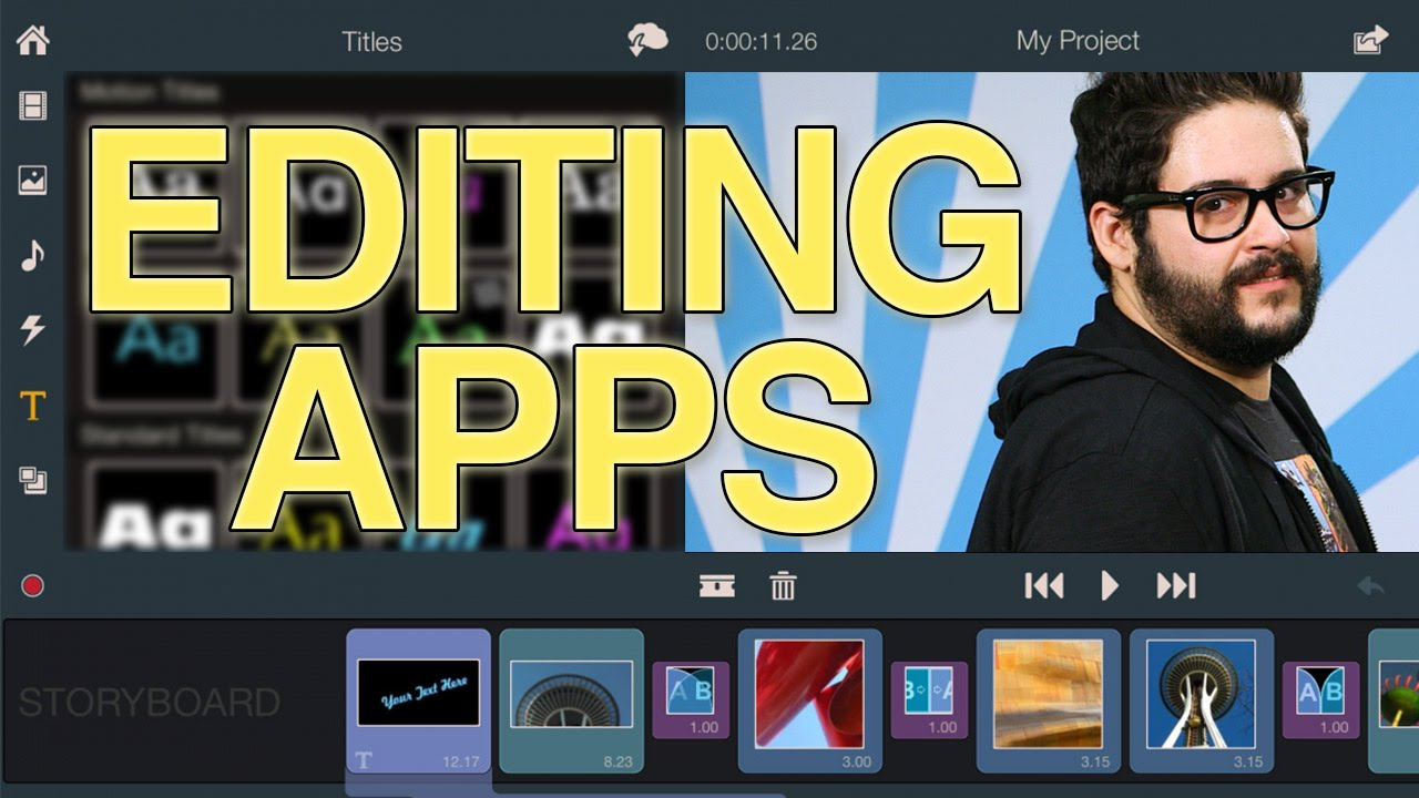 video editing application